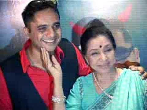 "Asha Bhosle launches the music album ""SAPNE SUHANE"""