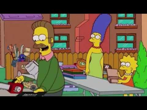 Ned Flanders e la canzone dei colori - I Simpson