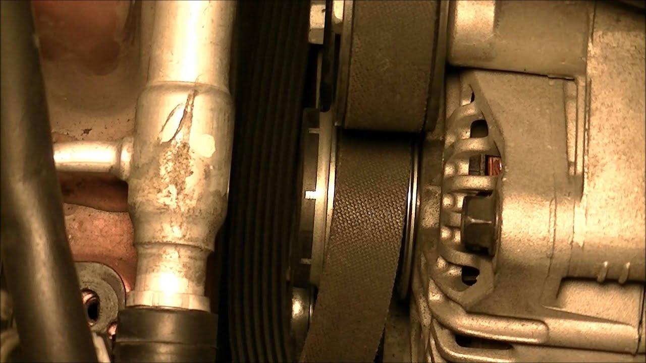 medium resolution of hyundai sonata yf 2011 2014 2 0t engine serpentine belt removal and replacement