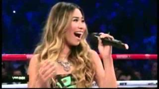 Jessica Sanchez Star Spangled Banner and Lupang Hinirang