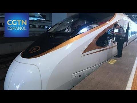El tren entre Shanghai y Beijing acelera hasta los 350 km/h
