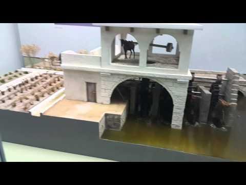 Horse Driven Mills - Model in Sharjah Museum