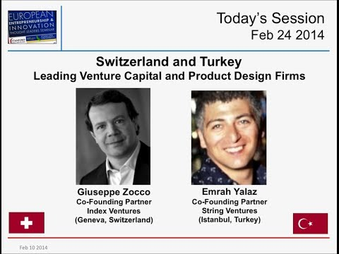 Switzerland & Turkey - Index Ventures & String Ventures - VC Funds & Product Design - Feb 24 2014