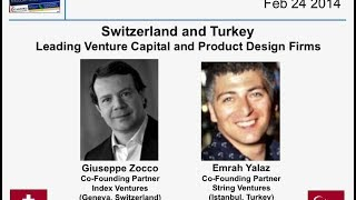 Switzerland & Turkey - Index Ventures & String Ventures - VC Funds & Product Design - Feb 24 2014