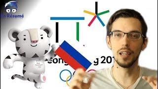 LA RUSSIE EST BANNI DES JEUX OLYMPIQUES DE PYEONGCHANG 2018!!!