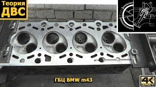 Теория ДВС: ГБЦ BMW m43 (микро-видео)
