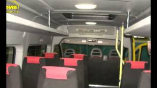 Fiat Ducato Turist 16+1 микроавтобус(Группа компаний ООО Интеравтоцентр и ТПК София на базе цельнометаллических фургонов изготавливает модифи..., 2014-08-15T07:25:07.000Z)