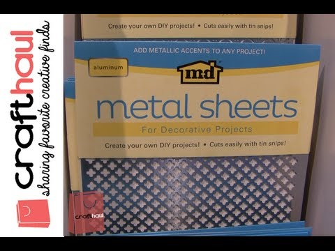Md Hobby Craft Metal Sheets