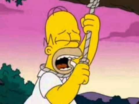 Homer Sucide