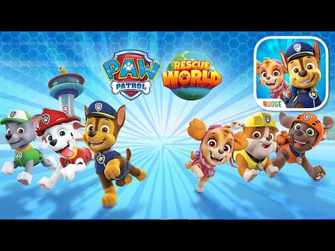 Download PAW Patrol Rescue World with Chase, Skye, Marshal & Zuma Gameplay