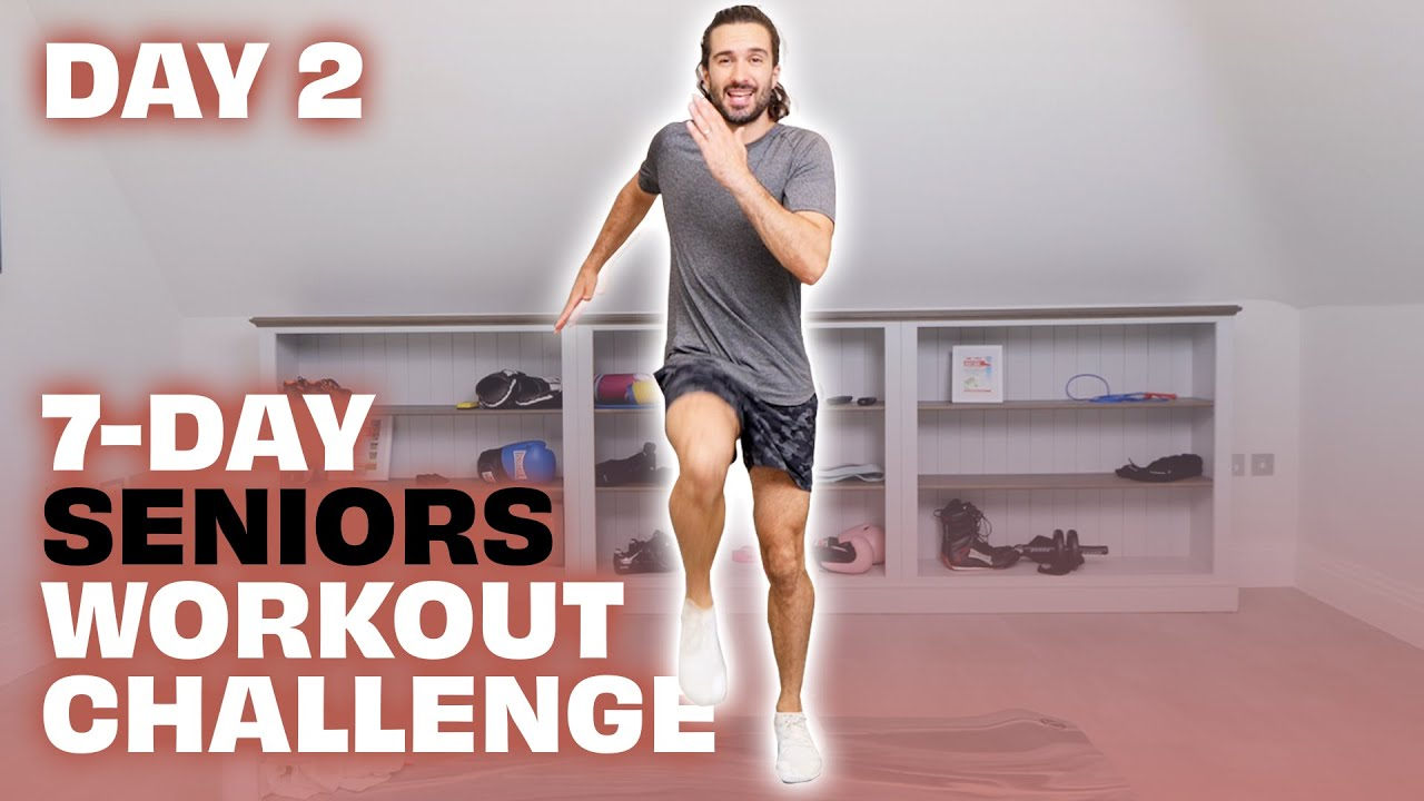 7-Day Seniors Workout Challenge | Day 2 | The Body Coach TV