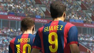 PES 2015 ::: FC Barcelona 2-1 Bayern Munich ::: PS4 Demo Gameplay