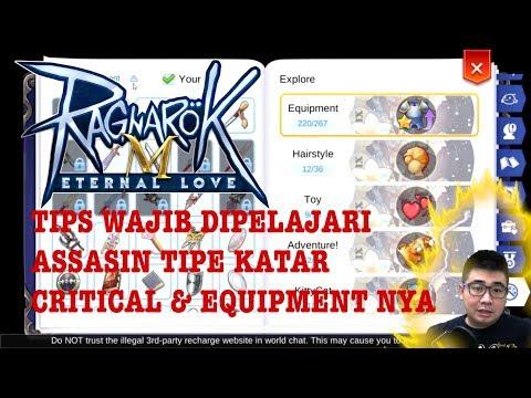 Tips Wajib Di Pelajari Thief ASSASIN & Equipment + Status Tipe Katar Critical Ragnarok Eternal Love