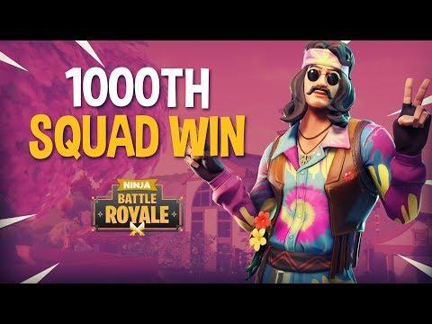 1000th Squad Win!! - Fortnite Battle Royale Gameplay - Ninja