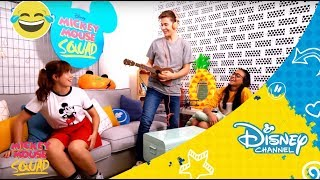 Mickey Mouse Squad - Backstage 4  | Disney Channel Oficial