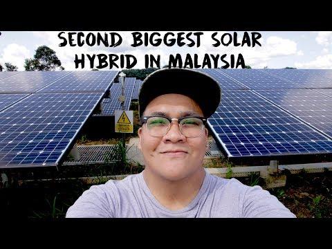 2ND BIGGEST SOLAR HYBRID IN MALAYSIA