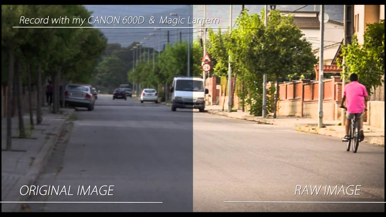 RAW video with CANON 600D/T3i & MAGIC LANTERN