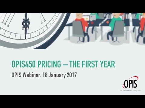 OPIS450: The First Year (webinar)