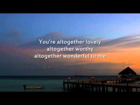 Here I am to Worship - Instrumental with lyrics