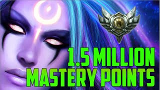 SILVER DIANA 1,500,000 MASTERY POINTS- Spectate Highest Mastery Points on Diana