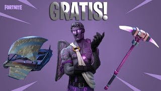 FREE REWARDS AND SKIN!! -DARK CUPANDAnd FOUNDERPACK!! -FORTNITE