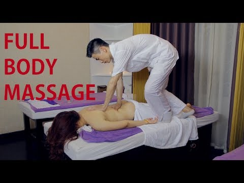 Full Body Massage Techniques (37 Minutes) | Traditional Mass