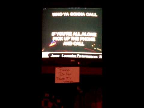 Karaoke Practice - Ray Parker - Ghostbusters ( R.I.P. Harold Ramis )