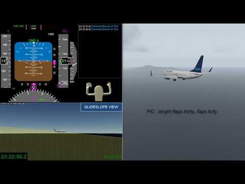 Flight Reconstruction Of Air Niugini Flight PX073
