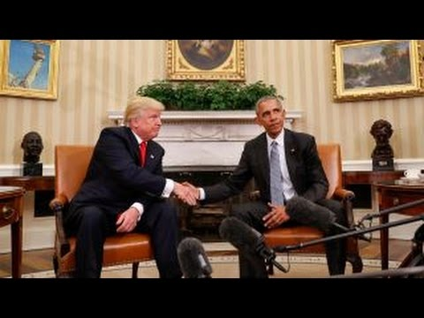 Is there still a smooth transition from Obama to Trump?
