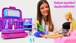 Barbie ile eğlenceli oyunlar! Seçkin bölümler