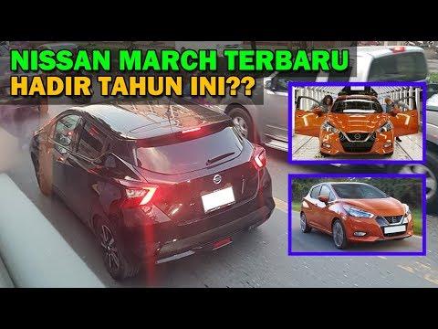 Terpotret..!! NISSAN MARCH Terbaru Akan Masuk INDONESIA Tahun 2018 Ini??