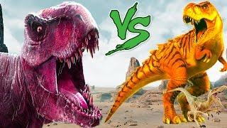 Dinosaurs vs Dinosaur | Dinosaurs Cartoons For Children | Dinosaurs For Kids | Cartoons Lion Gorilla