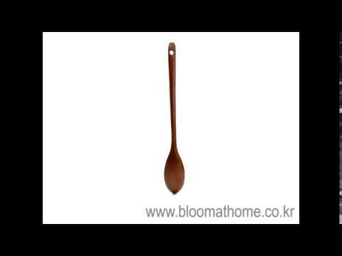 옻칠 나무 롱 티스푼-주방용품[블룸엣홈]