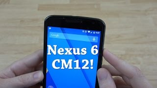 My Nexus 6 is Awesome! (CyanogenMod 12)