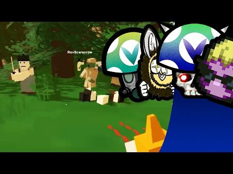 [Vinesauce] GPM, Joel, Huggbees & Rev - Unturned