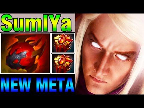 SumIYa Invoker New Meta - Heart of Tarrasque and Solar Crest - RAMPAGE! - Vol 16 - Dota 2