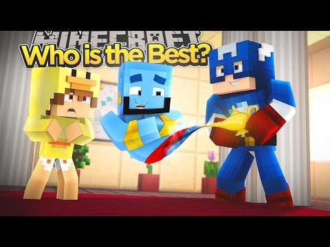 Minecraft Adventure - BABY DUCK GETS THE THREE WISHES!!!