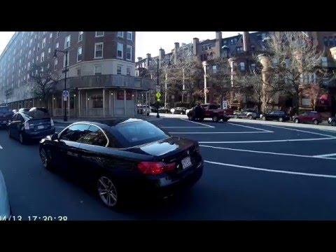 Boston (Downtown | Back Bay | Kenmore | Allston) on my Vespa LX150