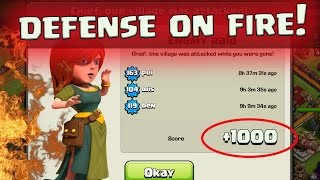 """Clash of Clans: """"HOT STREAK BASE!"""" CAN WE GET CHAMPION ON DEFENSE?"""