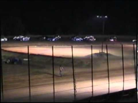 Champion park speedway 8-13-2011 Limited Modified Feature,Casey Bagwell takes the win.