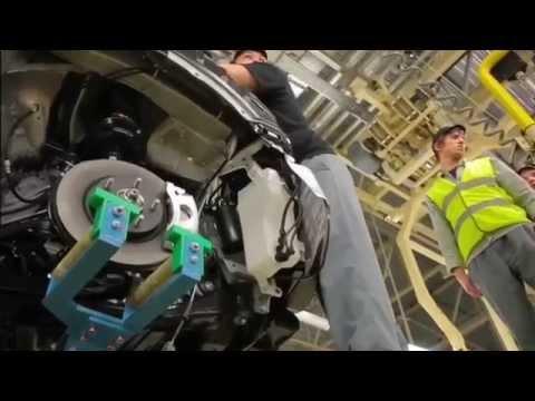 Как собираются автомобили Nissan в Санкт Петербурге