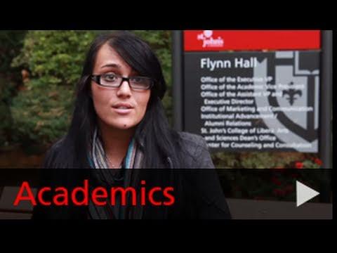 Academics at St. John's University