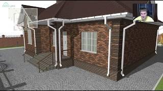 Удобный проект  одноэтажного дома «Жилой»  C-290-ТП(, 2017-10-12T10:07:49.000Z)