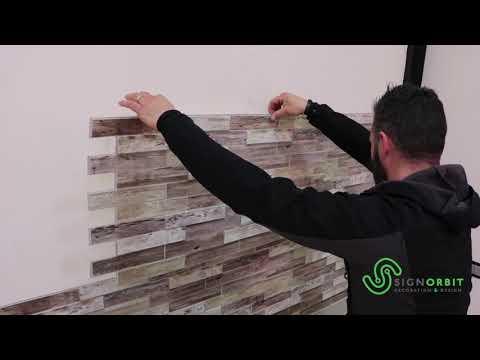 PVC panels for walls  -  Decorative panels