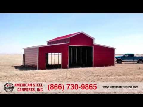 American Steel Carports A Frame Garage Rv Cover