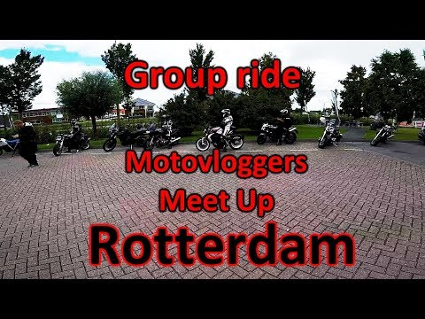 Group ride - Meifesto Twowheels - Motovloggers meet up in Republic Moto Rotterdam, great day \m/