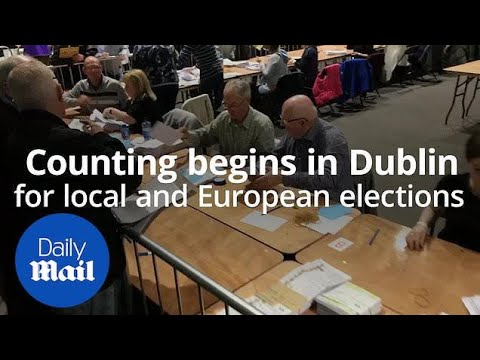 Counting begins in the local and European Elections in Dublin