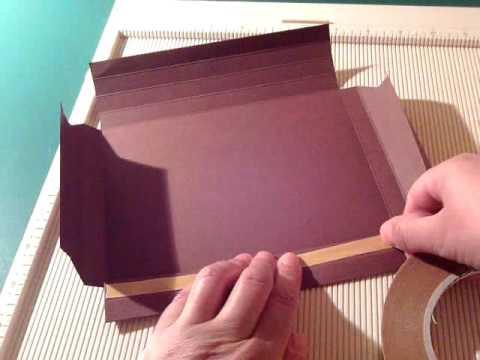 Como hacer marco de cartulina youtube - Como hacer un marco de fotos a mano ...