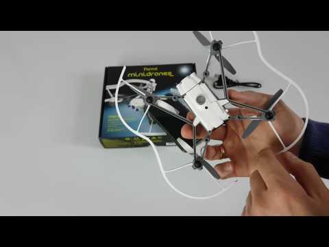 Parrot Minidron Airborne Cargo Drone MARS  -  Rozpakowanie Unboxing Konfiguracja TEST PL