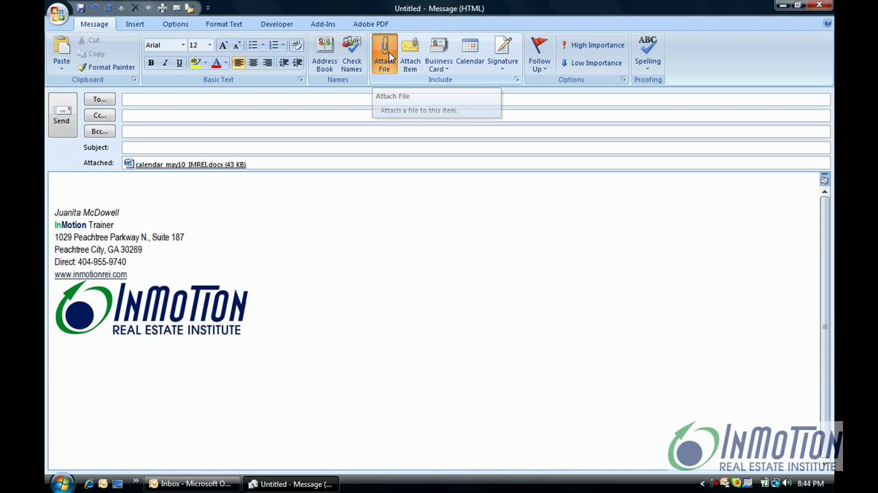 Outlook 2007 Pdf Add-in
